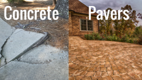 Concrete or Pavers – Blog
